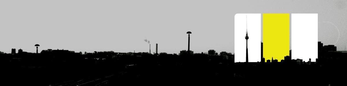 Berlin -3 sides - photo taken from Warschauer Straße