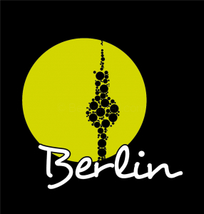 bubble Tower - a Berlin T-Shirt by Shirts of Berlin